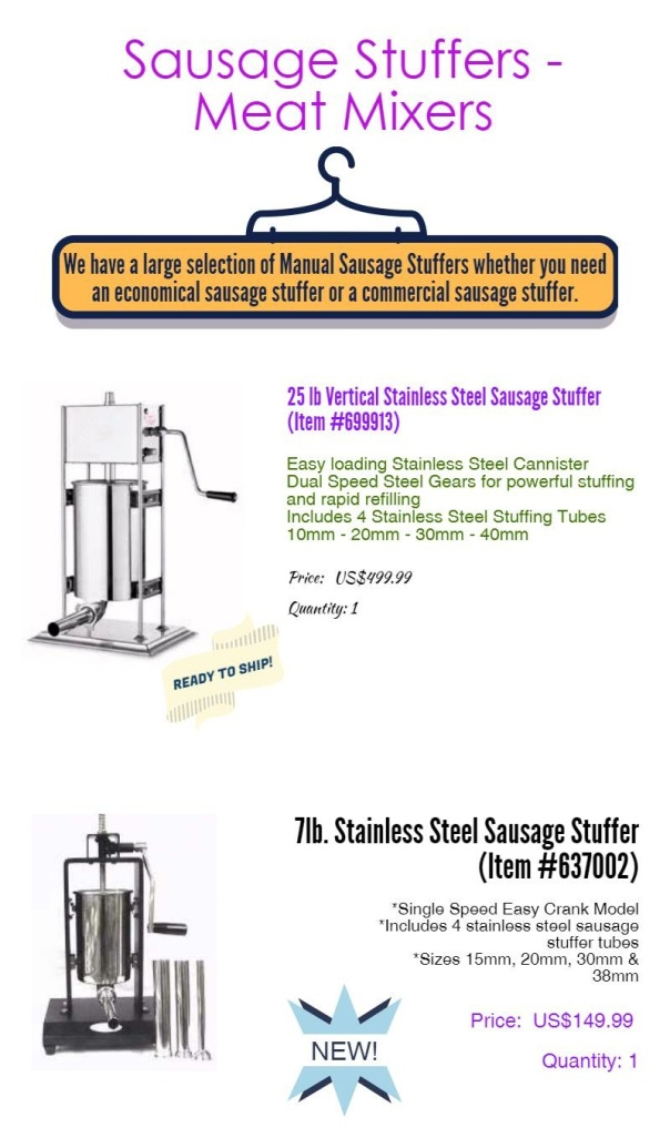 sausage-stuffer