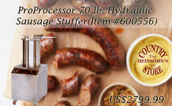 commercial sausage stuffer