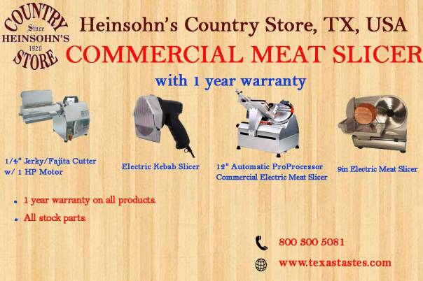 Commercial-meat-slicer