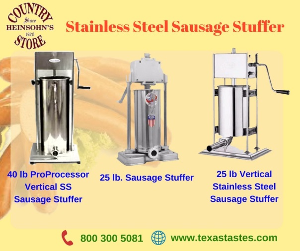 Stainless Steel Sausage Stuffer image