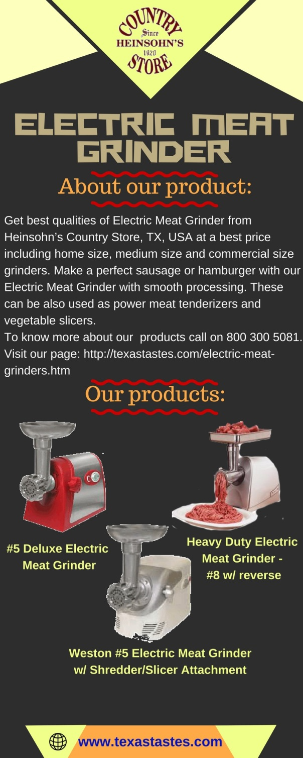 electric meat grinder img