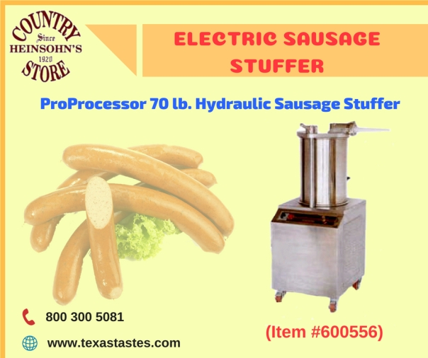 ELECTRIC SAUSAGE STUFFER