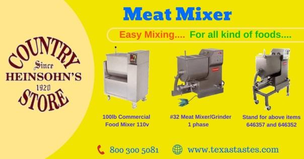 Meat Mixerss