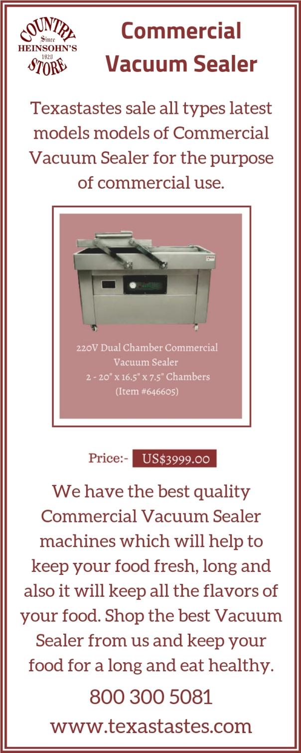 Commercial Vacuum Sealer