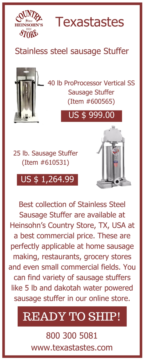Stainless Steel Sausage Stuffer.jpg