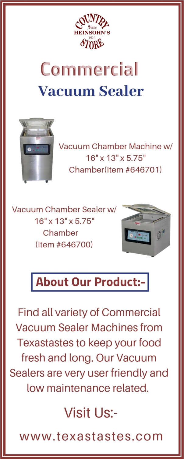 Commercial Vacuum Sealer 6