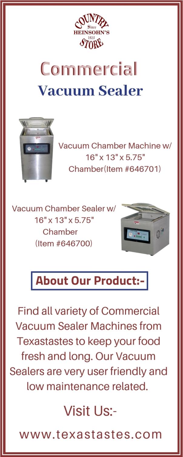 Commercial Vacuum Sealer 6