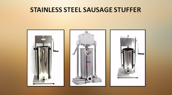 Stainless Steel Sausage Stuffer